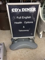 A1 Pavement Sign Double Sided