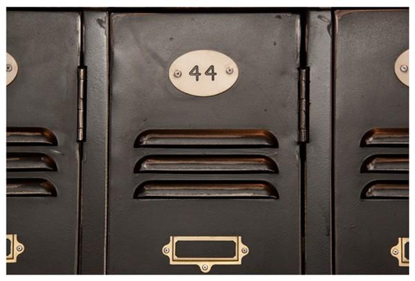 Refurbished 1950's Factory Lockers with Keys