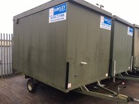"12'x7'6"" Mobile Anti-Vandal Office"