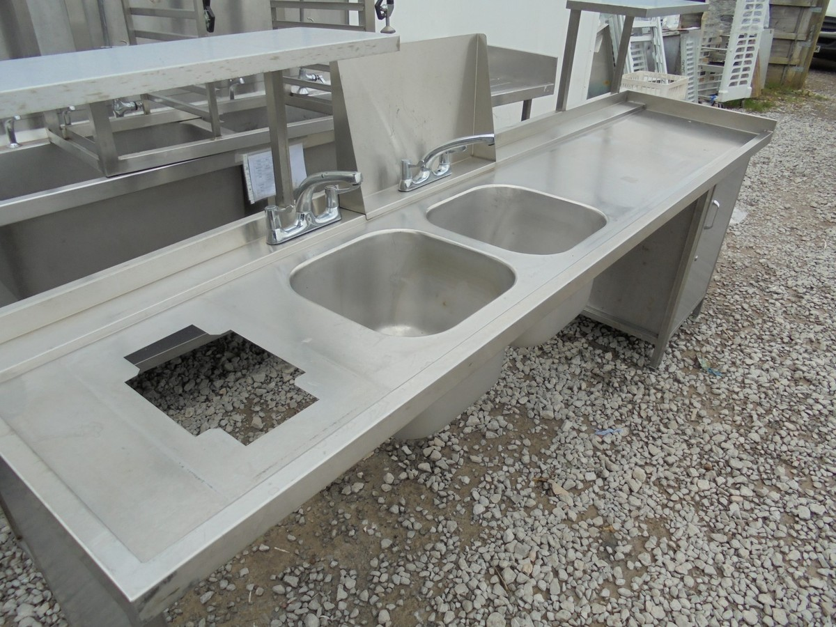 Stainless Steel Double Sink (4446) ...