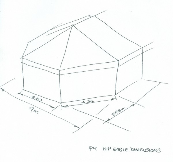 Hip end drawing