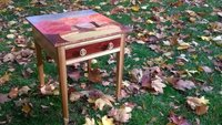 Veneered Side Table