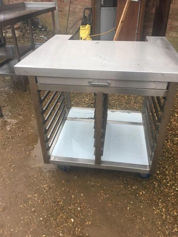 Combi Oven Stand on Castors