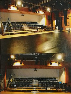 Stage Systems - Q-Plus Demountable Tiering System