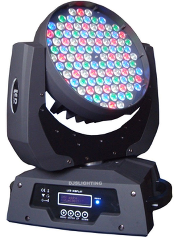 LED wash lights.