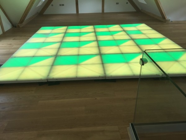 16 Panel LED Dance Floor