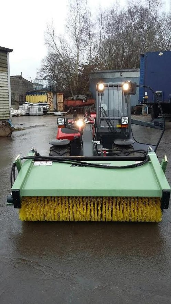 Mud on the road? Hire road sweeper