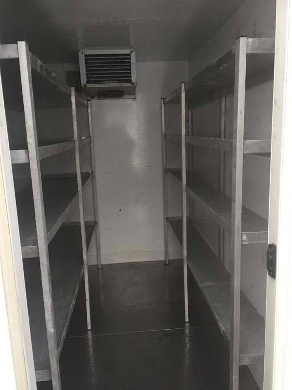 Catering trailer fridge hire