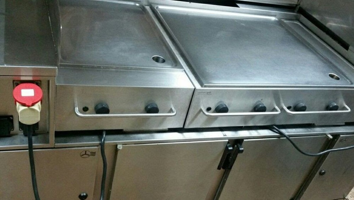 Secondhand Catering Equipment | Griddles Or Flat Grills | Rieber ...