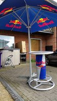 Red Bull Poseur Table