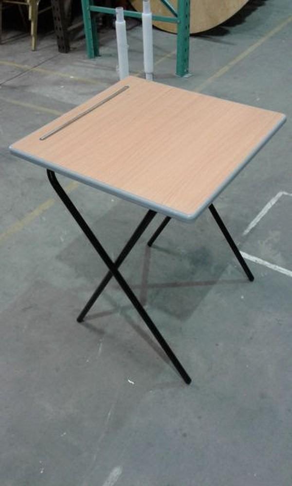 New 2Ft X 2Ft School Exam Folding Desks Quantity 500 In Stock