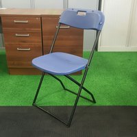 Blue Folding Chairs PRODUCT CODE: 0021 (CH40)