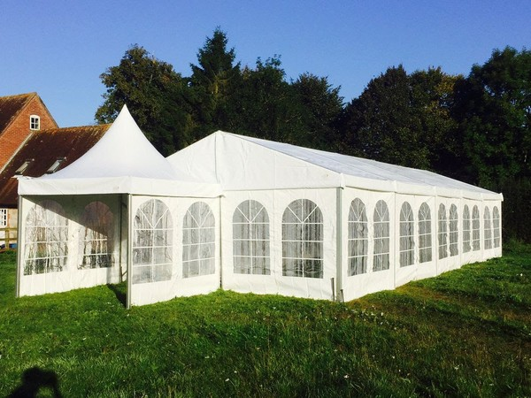 6m x 15m Liri Marquee and 3m x 3m Pagoda tent (new)