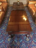 Mahogany 2 Drawer Coffee Tables