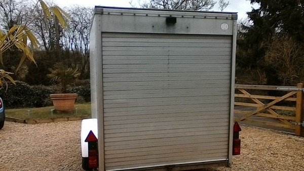 Twin Axle 10x6 Tow A Van Box Trailer