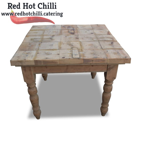 Rustic Farmhouse Table (Ref: RHC2201) - Warrington, Cheshire
