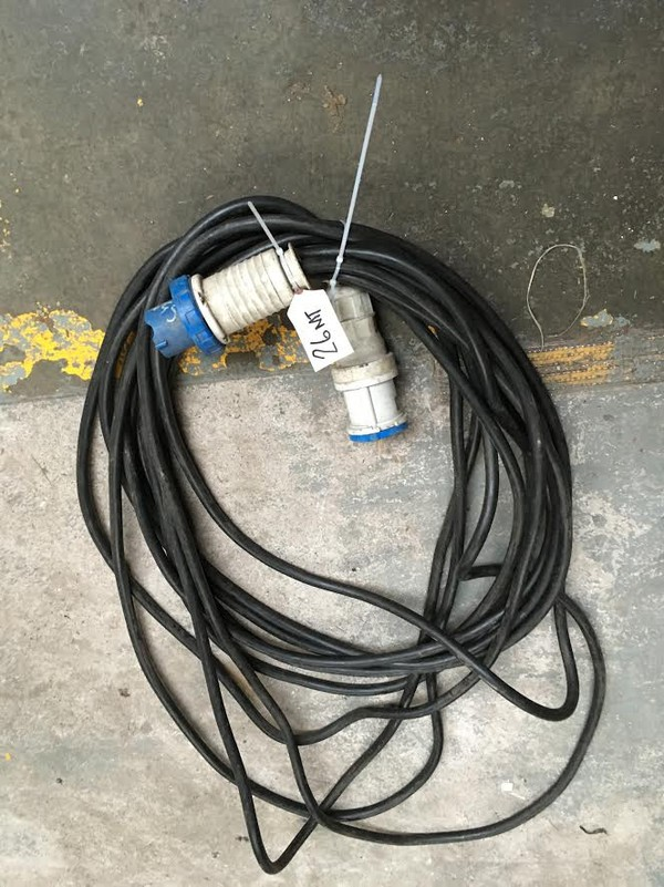 63 amp single phase extension lead