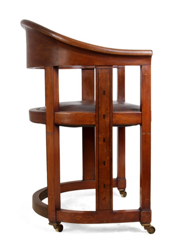 Arts and Crafts Desk Chair c.1910