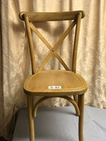 Ashcroft Chairmakers Oak Cross Back Chairs - Cheshire - Nationwide Delivery Available