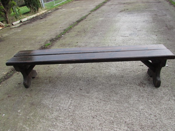 Heavyweight vintage benches