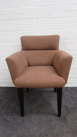 Speckled Tweed Angular Tub Chairs