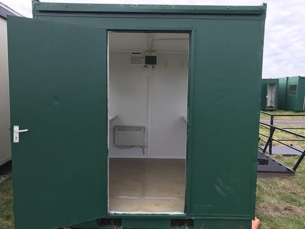 8ft x 8ft Ticket Office / Site Office / Portable Office
