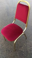 Burgundy Upholstered Chairs