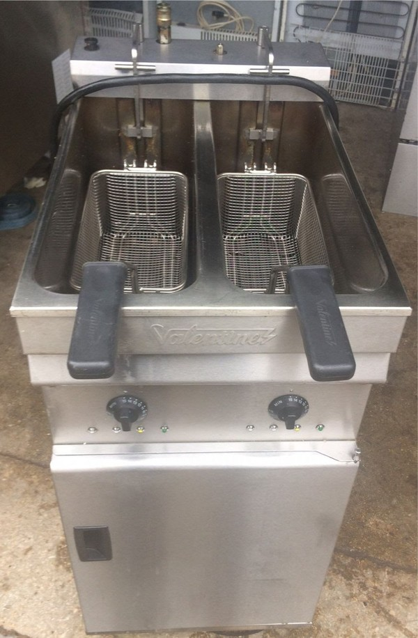 Valentine EVO2200P 3ph Electric Fryer with Pumped Filtration