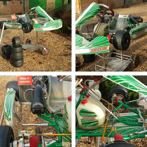 Used Tonykart EVK 2014 Kart Chassis for sale