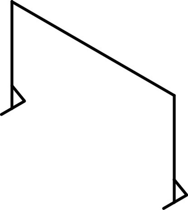 3x2m Starcloth & Frame