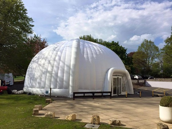 14m Air Beam Inflatable Dome For Sale (ex-hire stock)