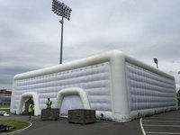 20m Air-beam inflatable Cube (ex-hire)