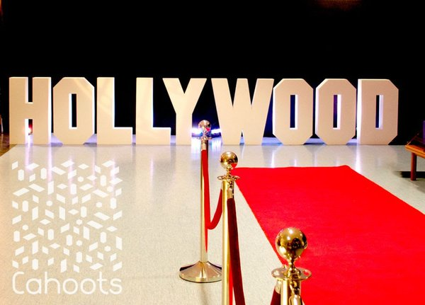 Hollywood Letters - 3D Cutout Freestanding Letters