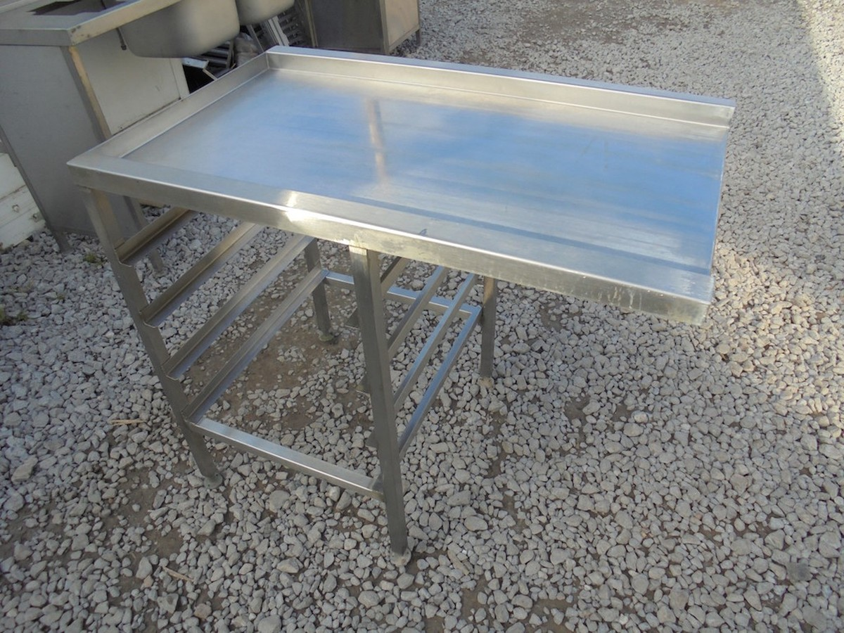 Curlew SecondHand Marquees H Products Somerset Stainless - Stainless steel dishwasher table