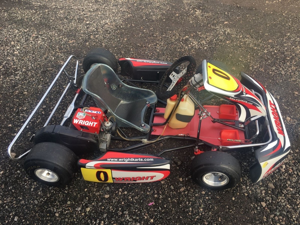 Secondhand Karting Co Uk Single Karts Wright Cadet