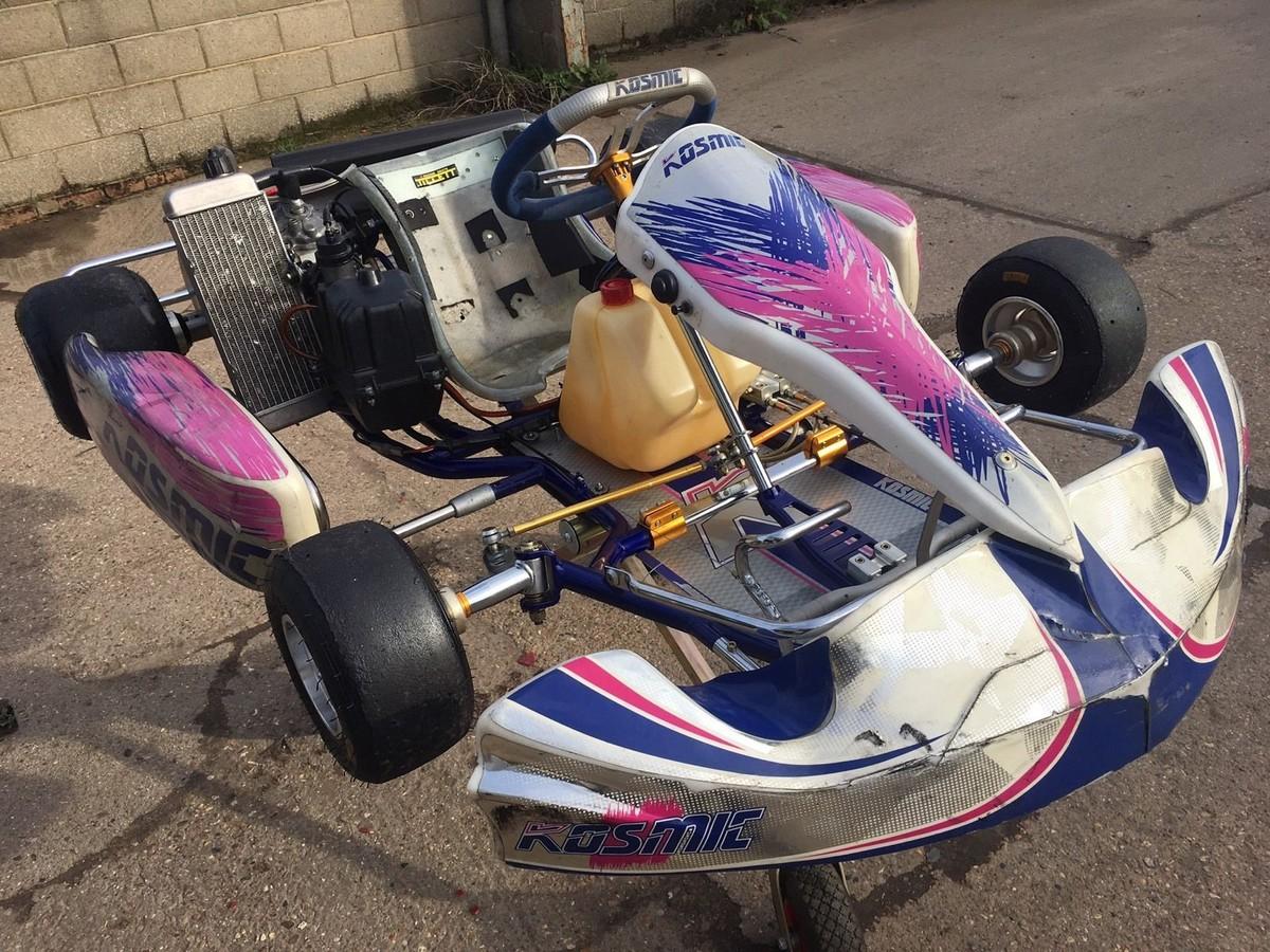 Secondhand-Karting.co.uk | Single Karts | OTK Kosmic Rotax Max Senior Complete Kart - Chelmsford