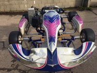 Used Kosmic OTK Rotax Max Senior Complete Kart for sale
