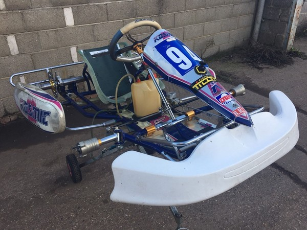 Secondhand 2013 Kosmic Kart Chassis for sale