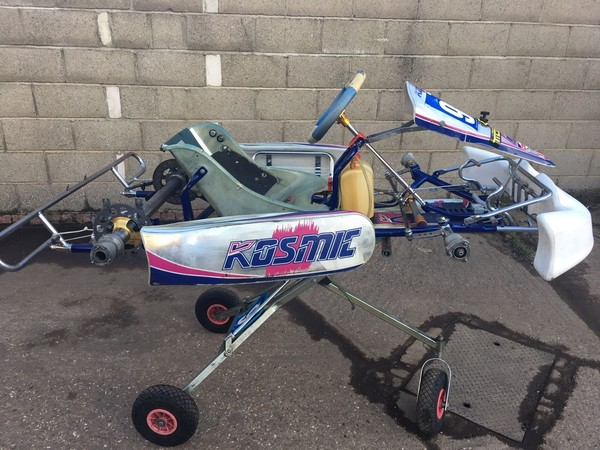 Secondhand Kosmic Kart Chassis for sale