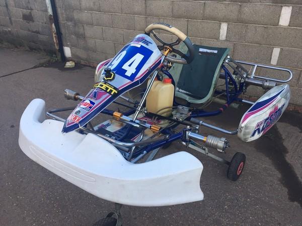 Used kosmic Kart Chassis for sale