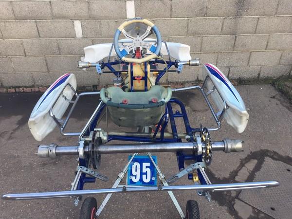 Used OTK Kosmic Kart Chassis for sale
