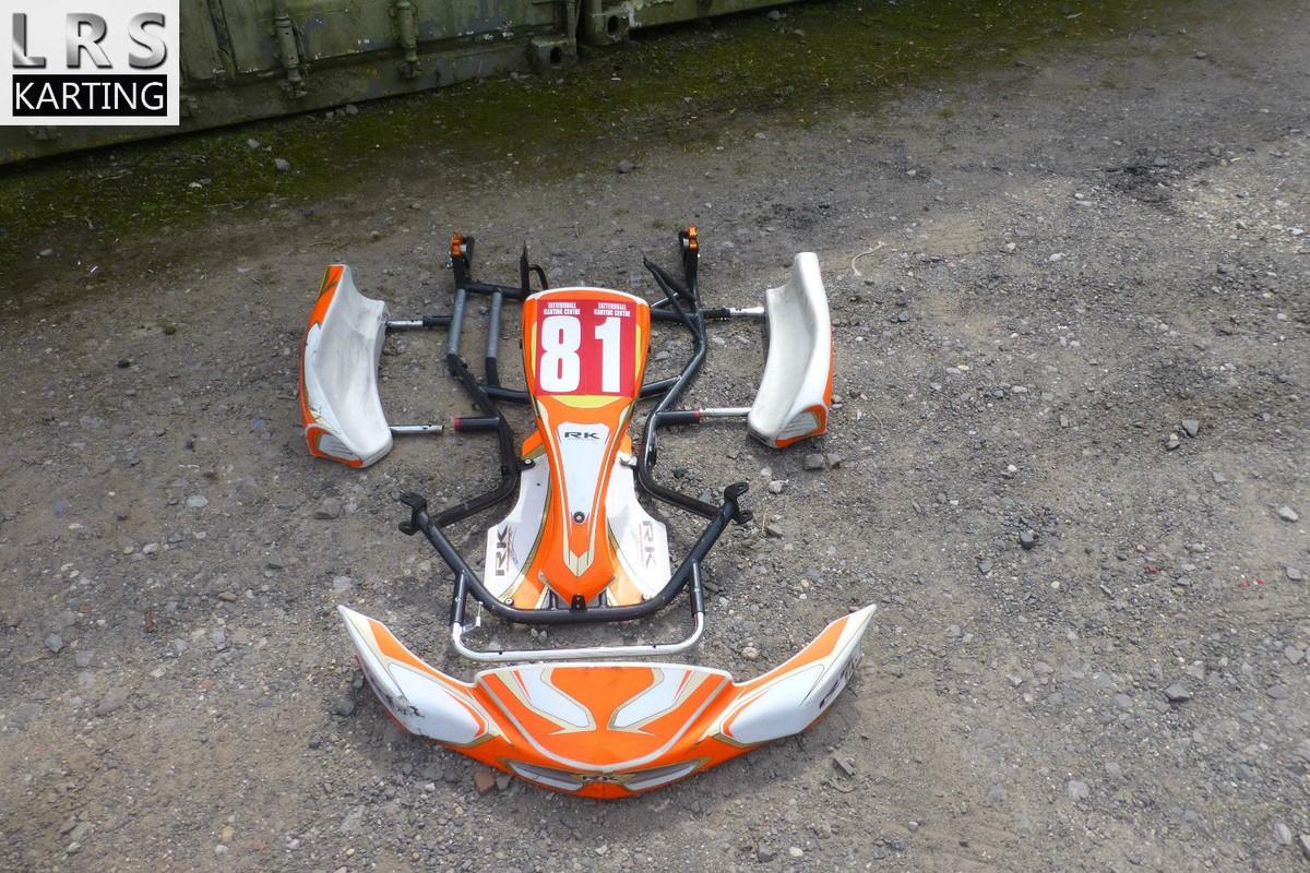 Secondhand-Karting co uk   Kart Chassis   RK Honda cadet chassis