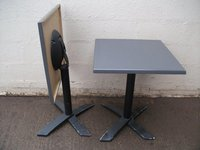 Outdoor folding dining tables