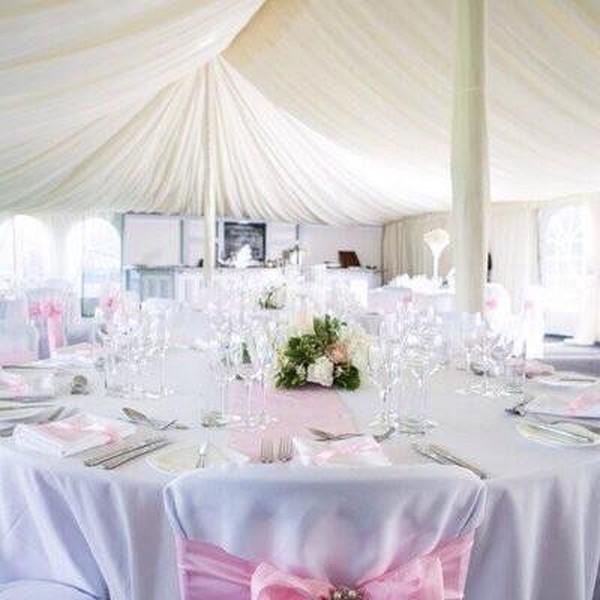 Wedding venue marquee
