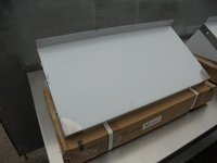 Stainless Steel Wall Shelf. Comes With Upstand And Brackets (4849) - Bridgwater, Somerset