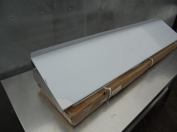 Stainless Steel Wall Shelf. Comes With Upstand And Brackets (4852) - Bridgwater, Somerset