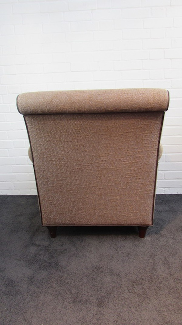 tweed easy chairs