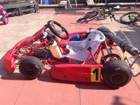 Zip cadet kart with comer 60w engine