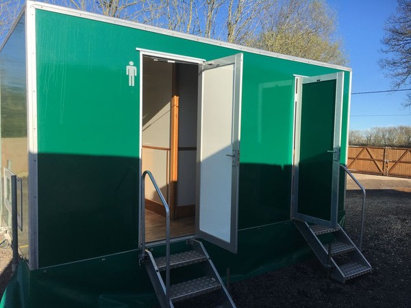 Trailer Front Mens Toilet