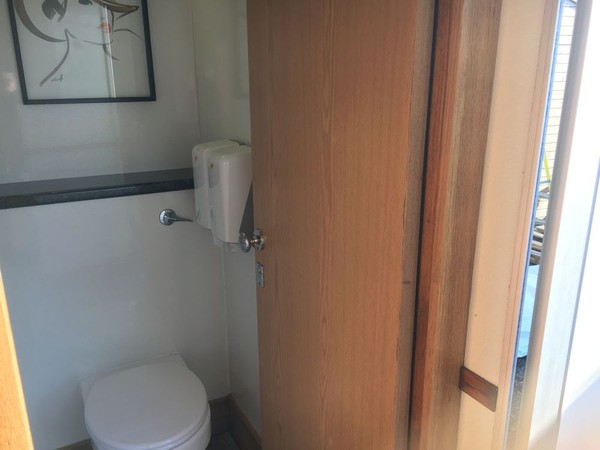 Trailer Interior Toilet